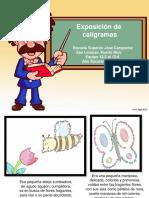 Caligramas Estudiantesjoscampechedesanlorenzopr 110424140712 Phpapp02