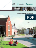 Manual for Streets