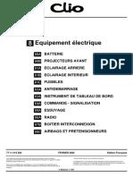 Clio 2 Equipement électrique - MR358CLIO8