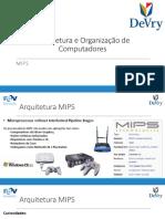 Arquitetura e Organização de Computadores - 03