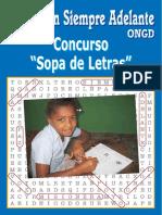 Libro Sopas de Letras 2012