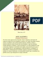 Gonzales, Federico - Arte Alquímica
