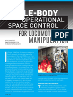Whole-Body Operational Space Control for Locomotion and Manipulation