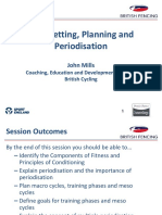 Goal Setting, Planning and Periodisation