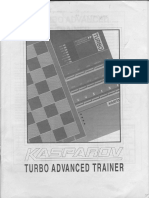 KASPAROV Turbo Advanced Trainer