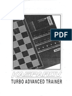 KASPAROV Turbo Avanced Trainer SAITEK