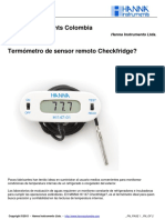 HI 147 Termometro Checkfridge