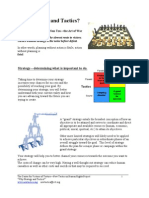 Understanding Strategy and Tactics