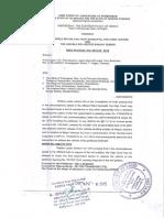Hyderabad High Court Order(Notarized)
