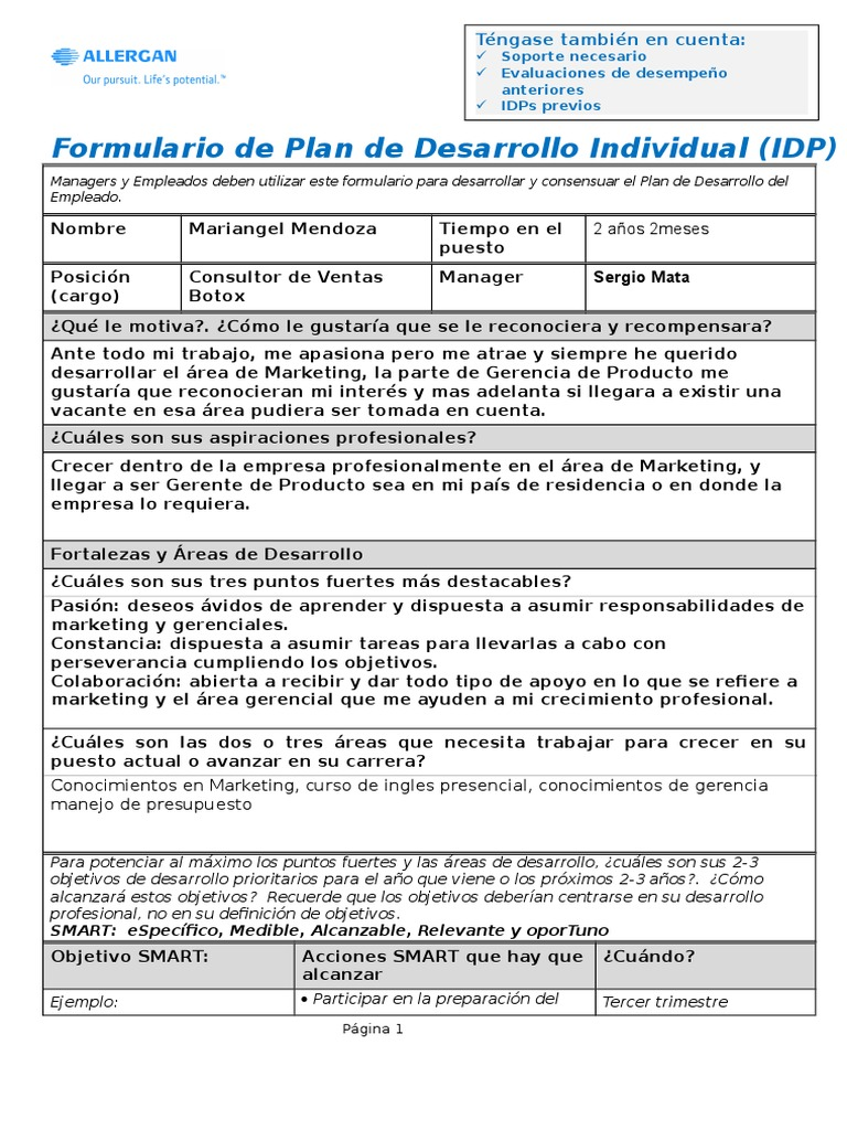 SP 2013 IDP Worksheet Template (1) Realizada