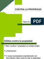 DELITOS CONTRA LA PROPIEDAD