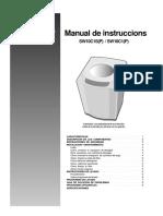 Manual de Usuario Lavadora