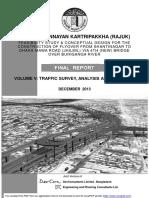 Traffic Report RAJUK Flyover DevCon