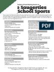 Save Saugerties High School Sports - Schedule of Events