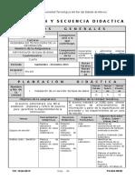 Planeación Admin BD 2015