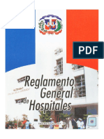Reglamento General Hospitales