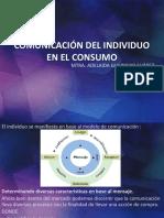COMUNICACIÓN DEL INDIVIDUO EN EL CONSUMO y MOTIVACIÓN COMPORTAMIENTO DEL CONSUMIDOR