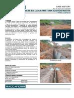 Dren a Je Carretera Iquitos Nauta