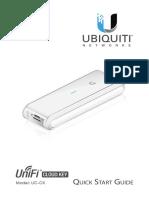 Unifi Cloud Key Uc-ck Qsg