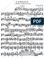 Brahms Violin Concerto in D Op 77 Joseph Joachim