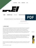 Nonincendive Equipment for Use in Hazardous (Classified) Locations ‹ IAEI Magazine