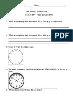 unit 3 part 2 study guide