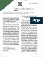 Sobrepesoyobesidadenestudiantesuniversitarioscolombianosysu asociaciónconlaactividadfísica