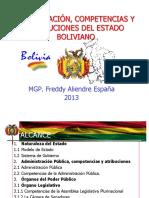 1 Organizacion Del Estado Boliviano 2013
