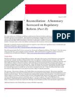 Client Alert -- Financial Reform Part II