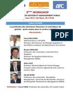 Table Ronde Workshop Dijon 27-03-17