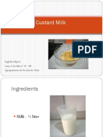 Custard Milk Laura 8ºB