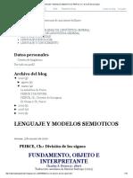 Lenguaje y Modelos Semioticos_ Peirce, Ch