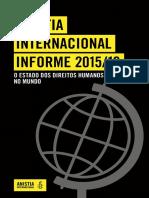 Anistia Internacional Informe 2015-16 - O Estado Dos Direitos Humanos No Mundo