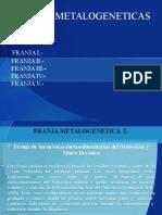 Franjas i,II,III,IV,V