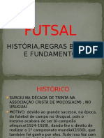 Slide de Futsal Para Aula de Ed. Física