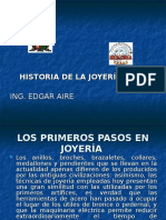 Historia de Joyeria
