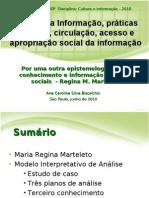 PPGCI - ECA/USP - Informação e Cultura