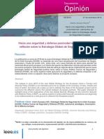 Hacia una seguridad y defensa postmodernas, de Alfredo Vázquez Ramos