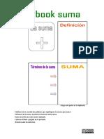 Lapbook La Suma