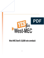 Yes for West-MEC Comeback