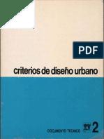 Criterios de Diseño Urbano Infonavit