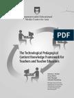 (3) ICT Teacher Education_TPaCK