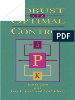 Robust and Optimal Control