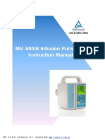 MV-600IB Instruction Manual