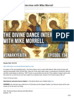 Snarkyfaith.com | The Divine Dance Interview With Mike Morrell