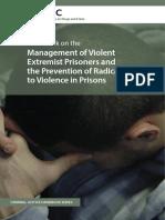 Handbook UNODC Prisons on VEPs
