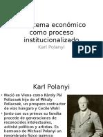 El Sistema Económico Como Proceso Institucionalizado