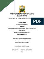 Enfoque Agroecologico en El Manejo Del Predio-2 Parcial Trabajo Grupal
