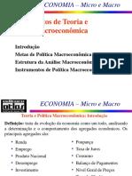 Macroeconomia, Política e Metas (1)