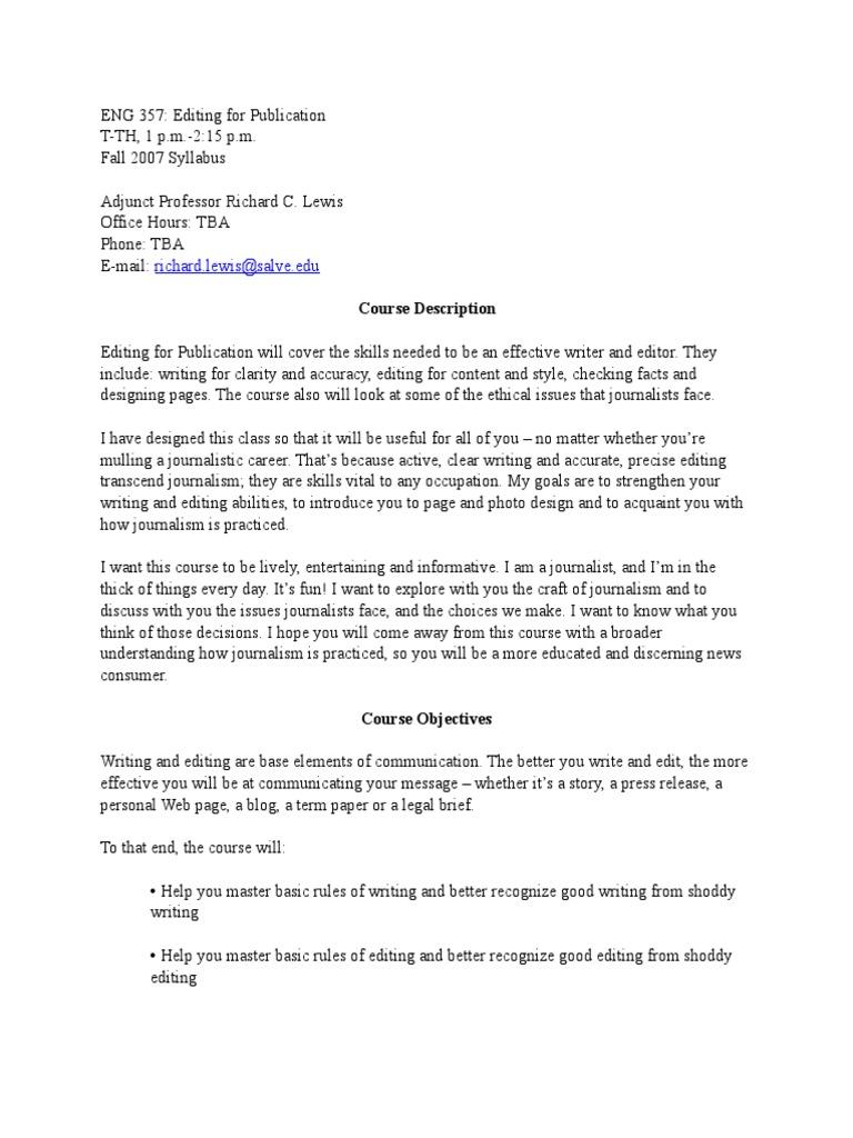 help writing journalism term paper